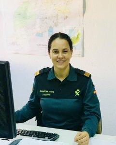 La Guardia Civil Gloria Moreno. SERGIO CALLEJA
