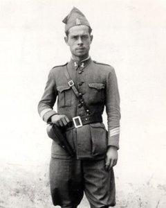Sargento Carlos Fabra, que evitó el Golpe de Estado del 36 en Valencia.