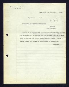 telegrama bienes judíos