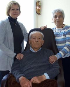 Luis Perea, superviviente de Mauthausen, falleció el pasado 13 de julio.- LOS ÚLTIMOS ESPAÑOLES DE MAUTHAUSEN