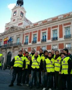 voluntarios de Seguridad Podemos