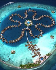 Proyecto de isla flotante en las Maldivas. DUTCH DOCKLANDS