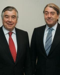 Alberto Alcocer (izquierda) y Alberto Cortina (derecha). Foto: Archivo