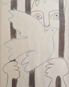 Retrato que Pablo Picaso regaló a Marcos Ana