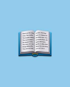 El libro abierto azul de Whatsapp esconde más de lo que pensábamos. /Emojipedia