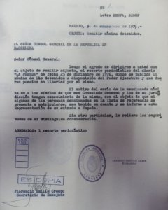 Telegrama por la familia Gelman. PÚBLICO