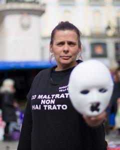 Gloria Vázquez, presidenta de la Asociación Ve la luz. CHRISTIAN GONZÁLEZ
