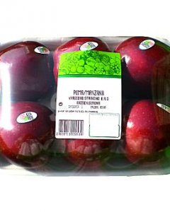 Manzanas empaquetadas