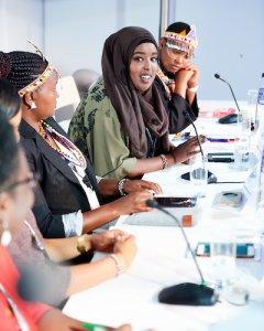 La conferencia sobre hablación, dentro de los Días Europeos de Desarrollo sobre el empoderamiento de la mujer para luchar contra la violencia.