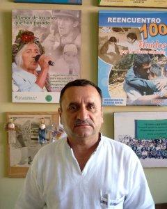 Marco Antonio Garavito, responsable de la Liga Guatemalteca de Higiene Mental