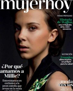 Millie Bobby Brown en portada de Mujerhoy