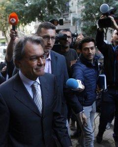 El expresident de la Generalitat, Artur Mas, a su llegada a la reunión del Comité Nacional del PDeCAT celebrada, en Barcelona. EFE/Alejandro García