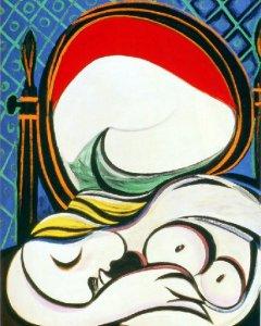 Le miroir.- PICASSO