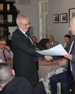 Josep Alsina, líder de la organización ultraderechista Somatemps, premiado en 2016.