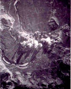 La aviación legionaria italiana destrozó 188 casas y provocó entre 300 y mil heridos en el bombardeo.