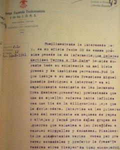 """A Dolores Martínez la condenaron a muerte en 1941 por ser una """"mal bicho procaz""""."""