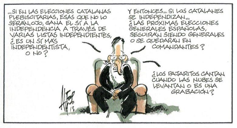 Mariano y el laberinto catalán