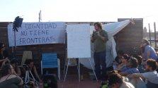 Ramón Grosfoguel, sociólogo de la Universidad de Berkeley, en Barcelona. / CORINA TULBURE