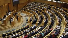 Imagen de archivo de un pleno en el Senado./ EFE