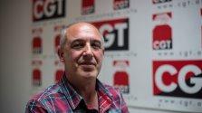 José Manuel Muñoz Póliz, secretario general de la CGT.- JAIRO VARGAS