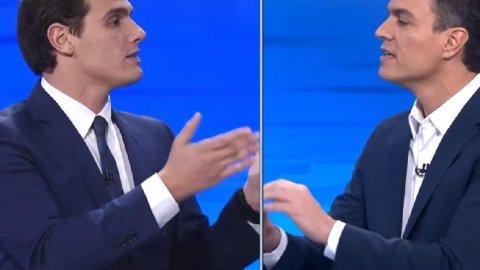 Pedro Sánchez y Albert Rivera, socios de gobierno