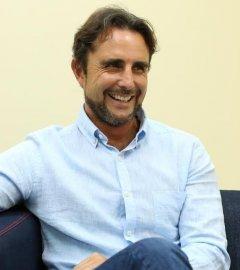 Hervé Falciani, durante la entrevista de este miércoles con 'Público'