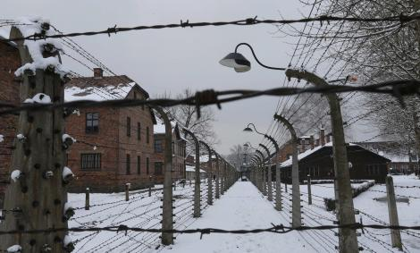 Imagen del campo de concentración de Auschwitz. - REUTERS
