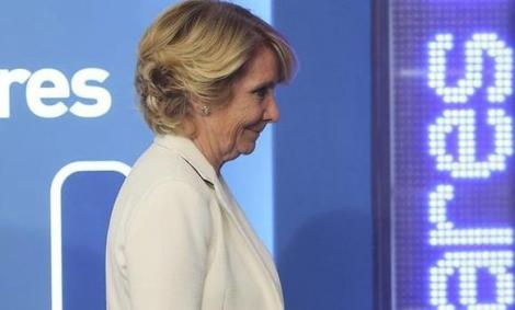 Esperanza Aguirre.- EFE