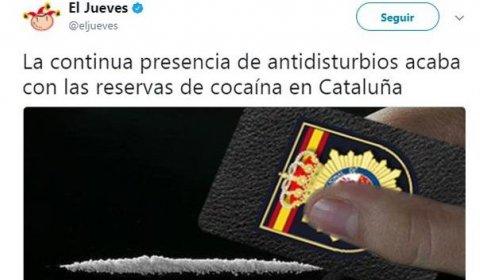 Un juzgado de Barcelona investiga a El Jueves por su publicación sobre la Policía Nacional.