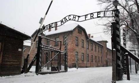 Imagen de archivo del campo de concentración de Auschwitz.