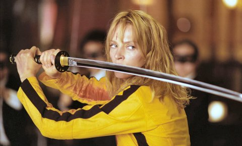 Uma Thurman en Kill Bill.