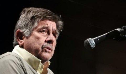 Carlos Slepoy durante el acto homenaje a Salvador Puig Antich