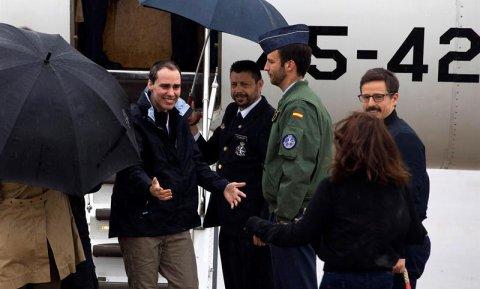 Los tres periodistas liberados en Siria estuvieron localizados por el CNI. /EFE