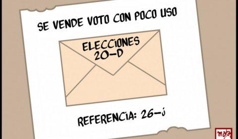 Se vende voto poco útil.