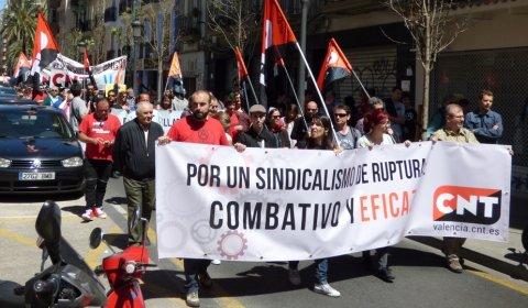 Protesta de la CNT.- CNT VALENCIA