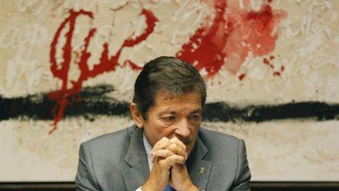 Javier Fernández, presidente de Asturias y de la gestora del PSOE. /EFE