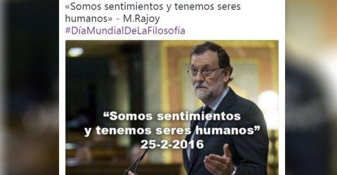 Rajoy tremending