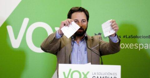 Santiago Abascal, líder de Vox. EFE