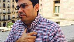 Gerardo Pisarello, imprimación Teniente de Alcalde del Ayuntamiento de Barcelona.  PÚBLICO