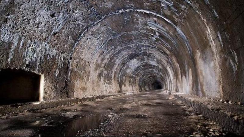 El túnel de la Engaña.- EFE