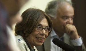 La abogada de las víctimas de la dictadura franquista ante la Justicia argentina, Ana Messuti.