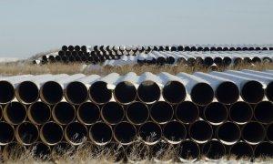 Tubos para el proyecto del oleoducto Keystone