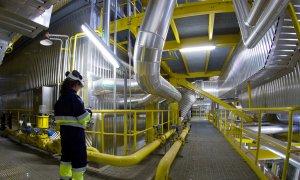 Central de producción eléctrica con biomasa de ENCE en Huelva./ENCE