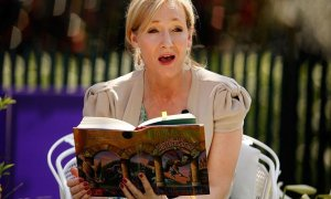La escritora y autora de Harry Potter, J.K. Rowling./ EUROPA PRESS