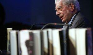 El escritor Mario Vargas Llosa, en una imagen de archivo. - REUTERS