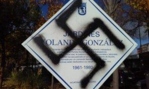 El vandalismo de extrema derecha se ceba con los monumentos que recuperan la memoria histórica