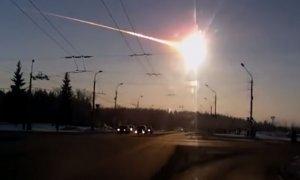 Imagen del meteorito que impactó en la ciudad rusa de Cheliábinsk en 2013. - YOUTUBE