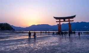 Las playas de Japón guardan la memoria de Hiroshima