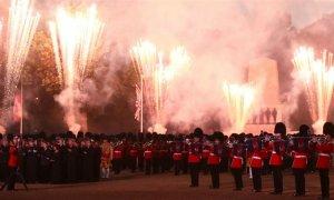 Fuegos artificiales en Reino Unido por la Noche de la Hoguera, hace unos días. Simon Dawson/Reuters