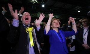 El independentismo escocés arrasa en las elecciones británicas y clama por un nuevo referéndum